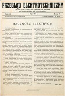 Przegląd Elektrotechniczny 1934 nr 9