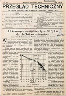 Przegląd Techniczny 1929 nr 24