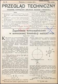Przegląd Techniczny 1929 nr 37