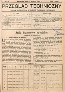 Przegląd Techniczny 1929 nr 50
