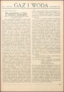 Gaz i Woda 1927 nr 9