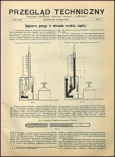 Przegląd Techniczny 1904 nr 32