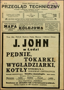 Przegląd Techniczny 1923 nr 11