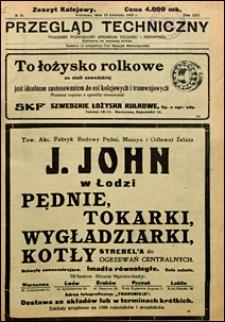 Przegląd Techniczny 1923 nr 15
