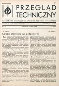 Przegląd Techniczny 1938 nr 14