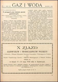 Gaz i Woda 1928 nr 3