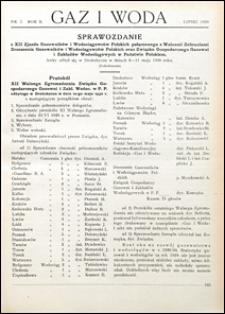 Gaz i Woda 1930 nr 7