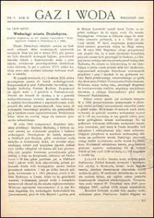 Gaz i Woda 1930 nr 9
