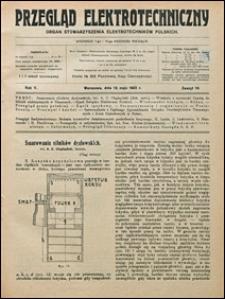Przegląd Elektrotechniczny 1923 nr 10
