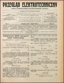 Przegląd Elektrotechniczny 1923 nr 15