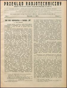 Przegląd Radjotechniczny 1923 nr 1