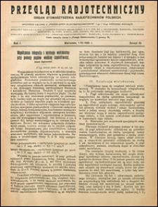 Przegląd Radjotechniczny 1923 nr 23