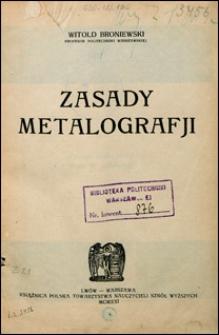 Zasady metalografji