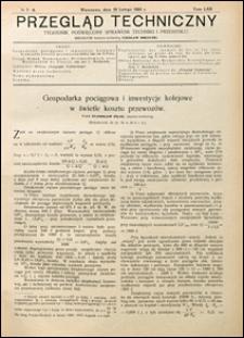 Przegląd Techniczny 1924 nr 7-8