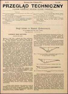 Przegląd Techniczny 1924 nr 33