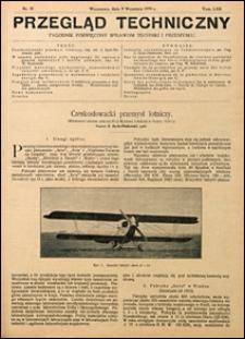 Przegląd Techniczny 1924 nr 37