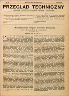 Przegląd Techniczny 1924 nr 53