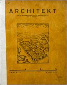 Architekt 1925 nr 2
