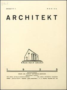 Architekt 1925 nr 7