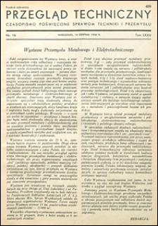 Przegląd Techniczny 1936 nr 16