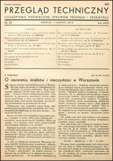 Przegląd Techniczny 1936 nr 22