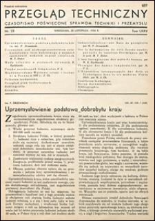Przegląd Techniczny 1936 nr 23