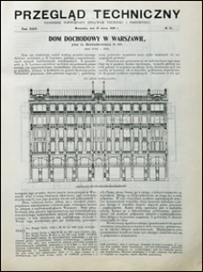Przegląd Techniczny 1906 nr 11