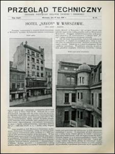 Przegląd Techniczny 1906 nr 19