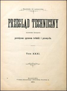 Przegląd Techniczny 1894 wrzesień