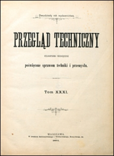 Przegląd Techniczny 1894 grudzień