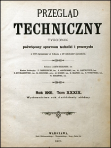 Przegląd Techniczny 1901 nr 29