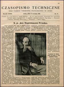 Czasopismo Techniczne 1918 nr 17