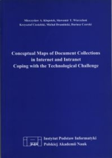 Conceptual Maps of Document Collections in Internet and Intranet Coping with the Technological Challenge