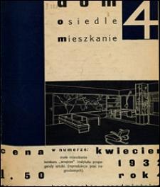 Dom, Osiedle, Mieszkanie 1932 nr 4