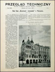 Przegląd Techniczny 1905 nr 3
