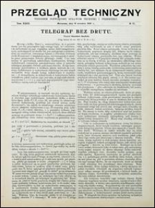Przegląd Techniczny 1905 nr 37