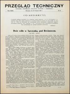 Przegląd Techniczny 1905 nr 45
