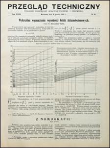 Przegląd Techniczny 1905 nr 49