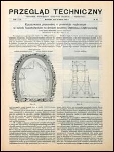 Przegląd Techniczny 1907 nr 13