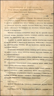 Telefonja i telegrafja : podług wykładów
