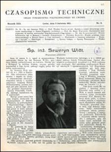 Czasopismo Techniczne 1912 nr 9