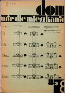 Dom, Osiedle, Mieszkanie 1930 nr 8