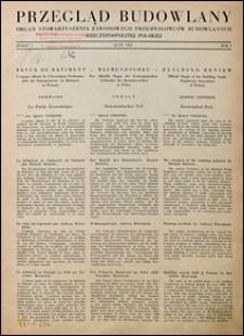 Przegląd Budowlany 1929 nr 1