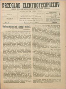 Przegląd Elektrotechniczny 1925 nr 5