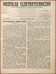 Przegląd Elektrotechniczny 1925 nr 8