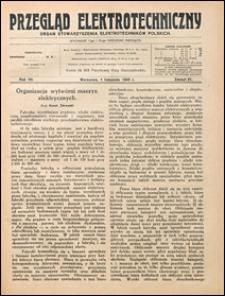 Przegląd Elektrotechniczny 1925 nr 21