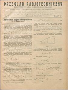 Przegląd Radjotechniczny 1925 nr 1-2