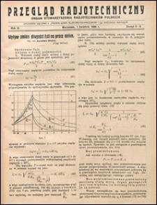 Przegląd Radjotechniczny 1925 nr 5-6