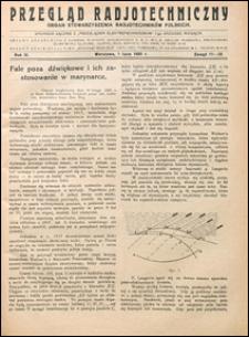 Przegląd Radjotechniczny 1925 nr 11-12