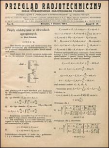 Przegląd Radjotechniczny 1925 nr 15-16